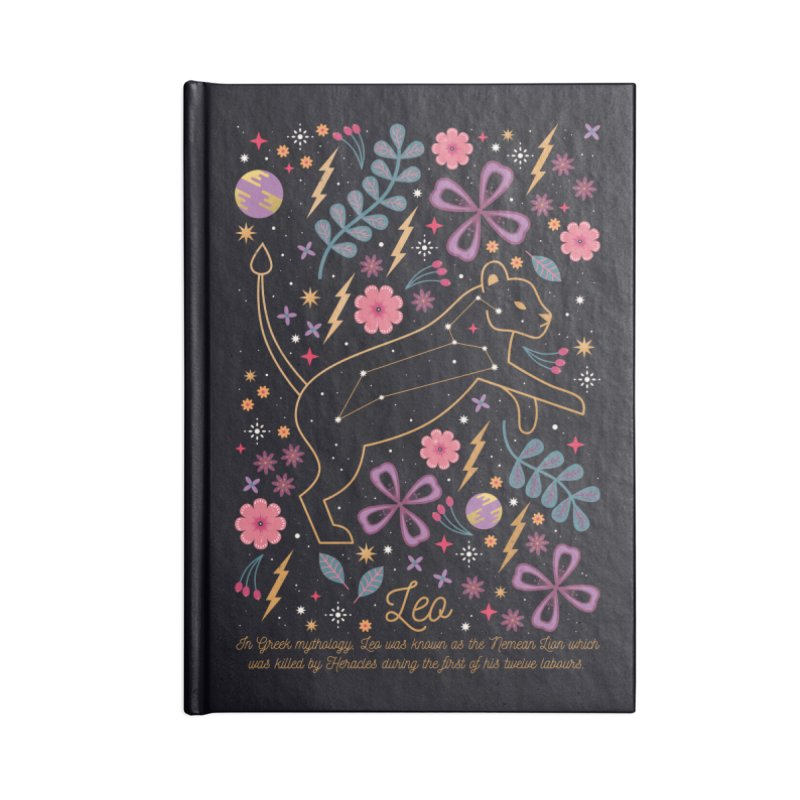 Leo Accessories Notebook by carlywatts's Shop
