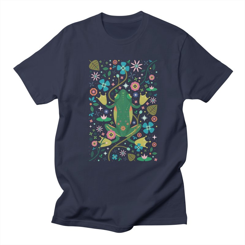 Botanical Frog  Women's Unisex T-Shirt by carlywatts's Shop