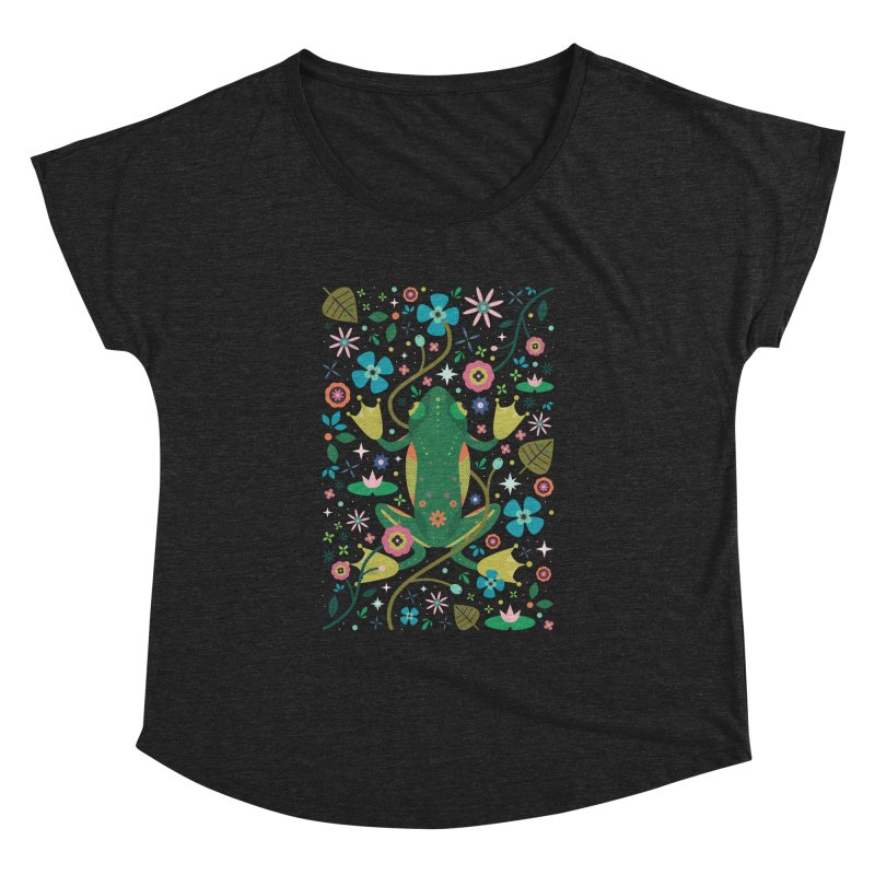 Botanical Frog  Women's Dolman by carlywatts's Shop