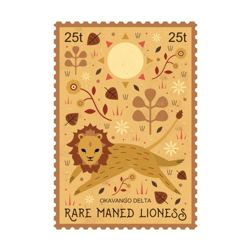 Rare Maned Lioness  by carlywatts's Shop