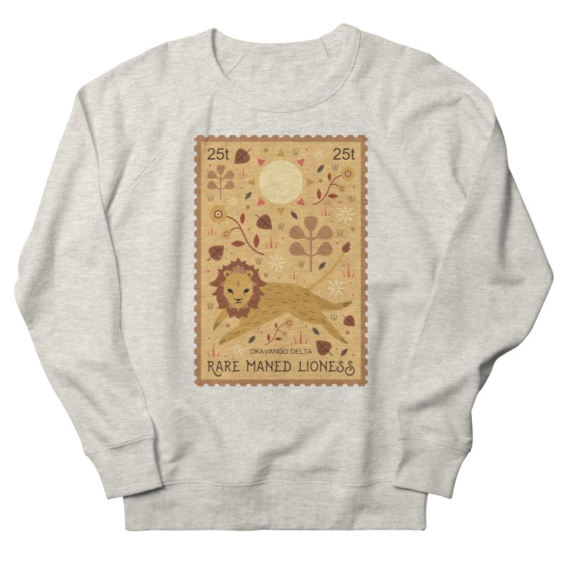 Rare Maned Lioness  Men's Sweatshirt by carlywatts's Shop