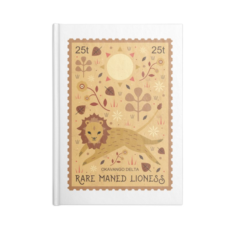 Rare Maned Lioness  Accessories Notebook by carlywatts's Shop