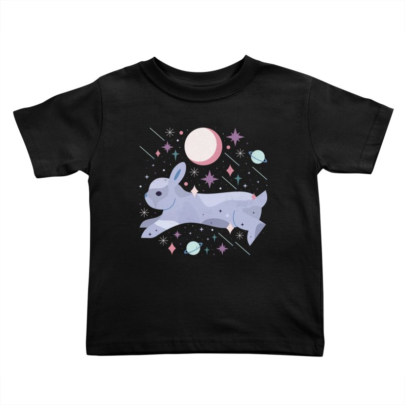 Celestial Bunny  Kids Toddler T-Shirt by carlywatts's Shop