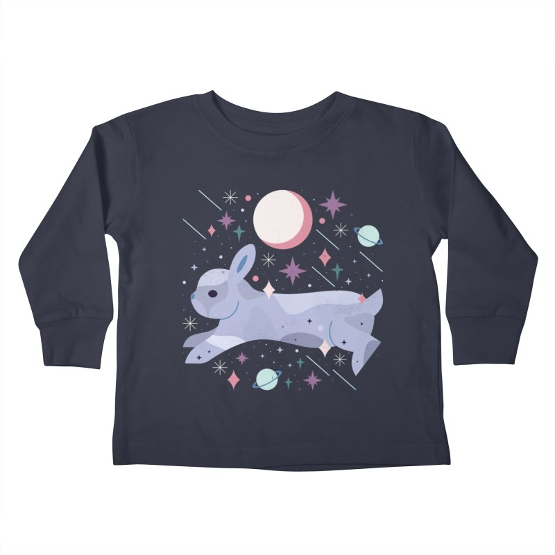 Celestial Bunny  Kids Toddler Longsleeve T-Shirt by carlywatts's Shop