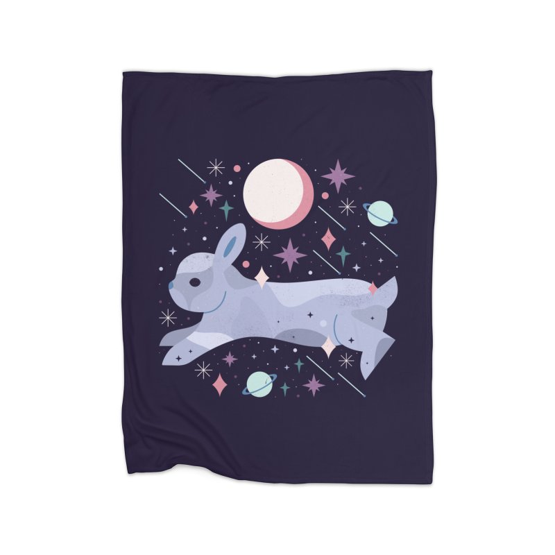 Celestial Bunny  Home Blanket by carlywatts's Shop