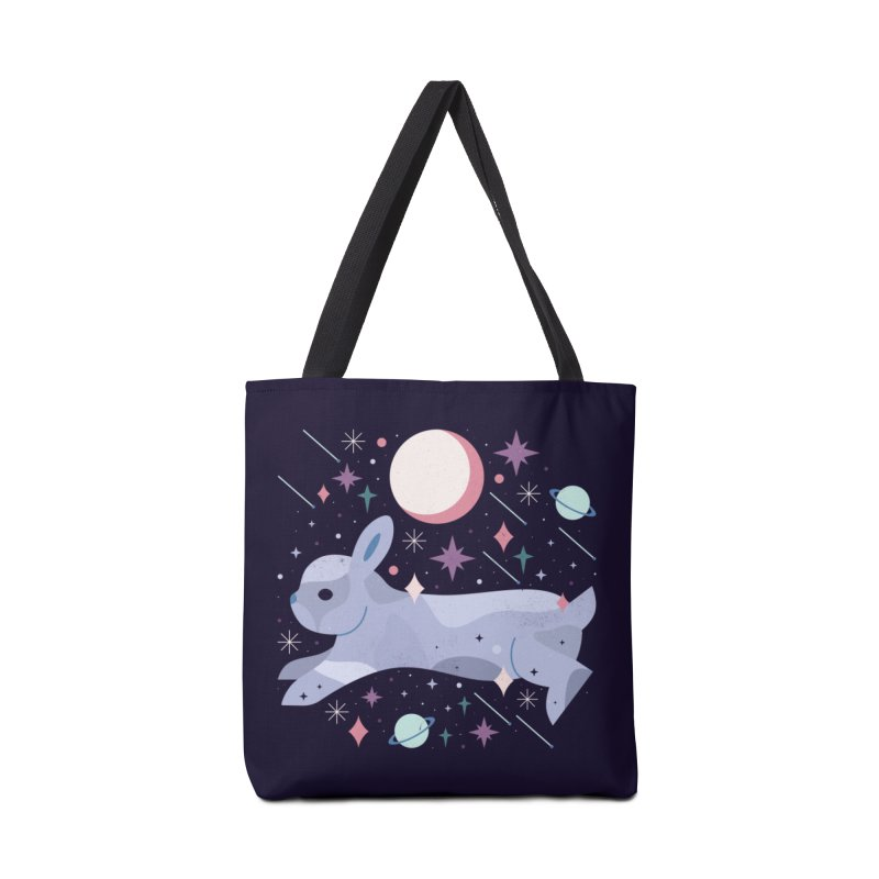 Celestial Bunny  Accessories Bag by carlywatts's Shop