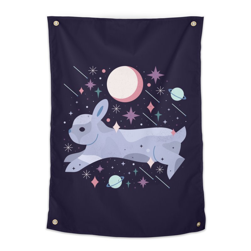 Celestial Bunny  Home Tapestry by carlywatts's Shop