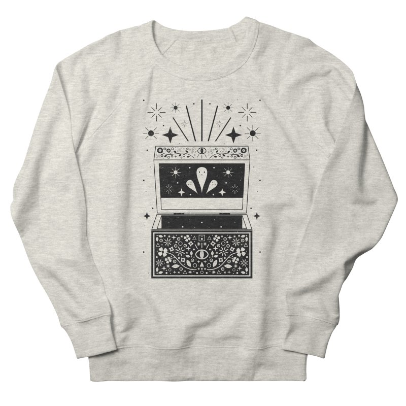Pandora's Box  Women's French Terry Sweatshirt by carlywatts's Shop
