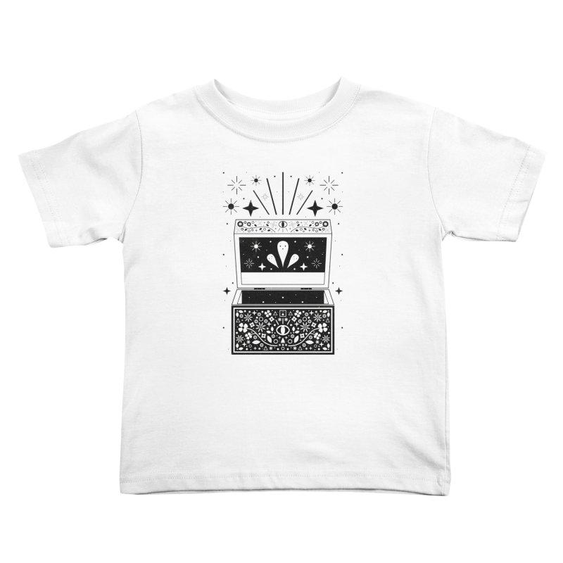 Pandora's Box  Kids Toddler T-Shirt by carlywatts's Shop