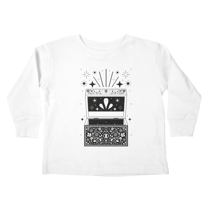 Pandora's Box  Kids Toddler Longsleeve T-Shirt by carlywatts's Shop