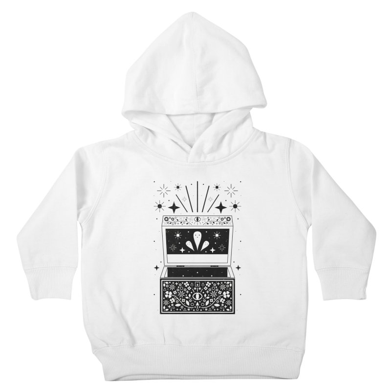 Pandora's Box  Kids Toddler Pullover Hoody by carlywatts's Shop