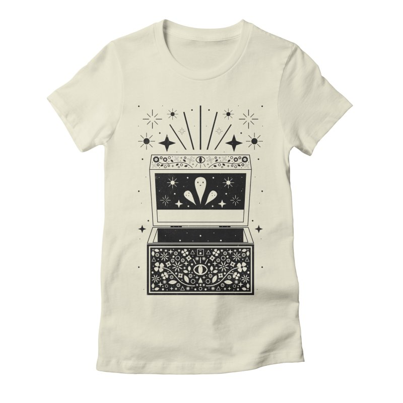 Pandora's Box  Women's Fitted T-Shirt by carlywatts's Shop