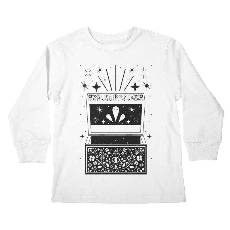 Pandora's Box  Kids Longsleeve T-Shirt by carlywatts's Shop