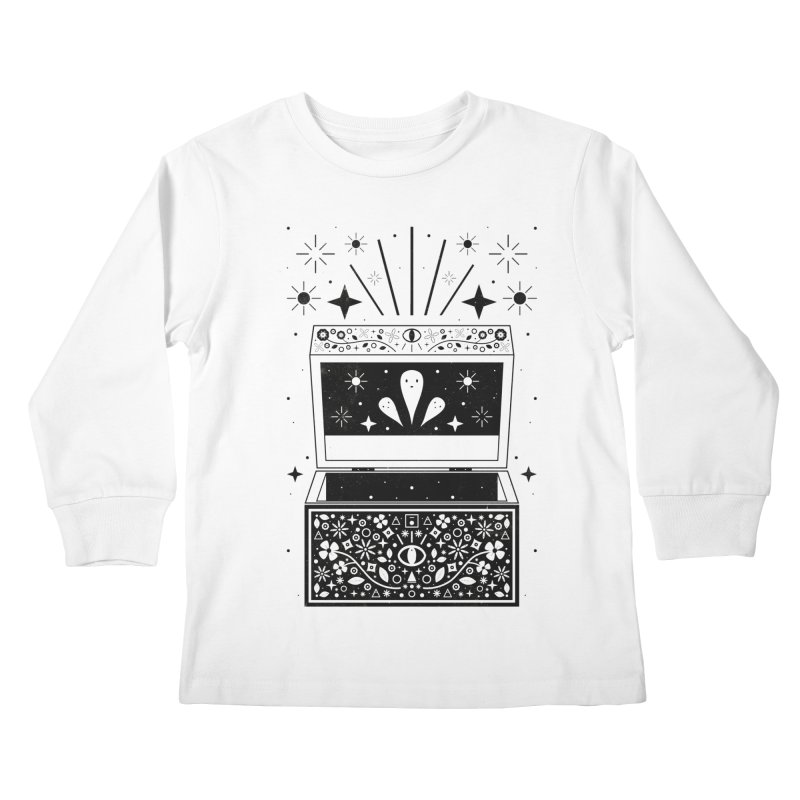 Pandora's Box  Kids Longsleeve T-Shirt by carlywatts's Shop