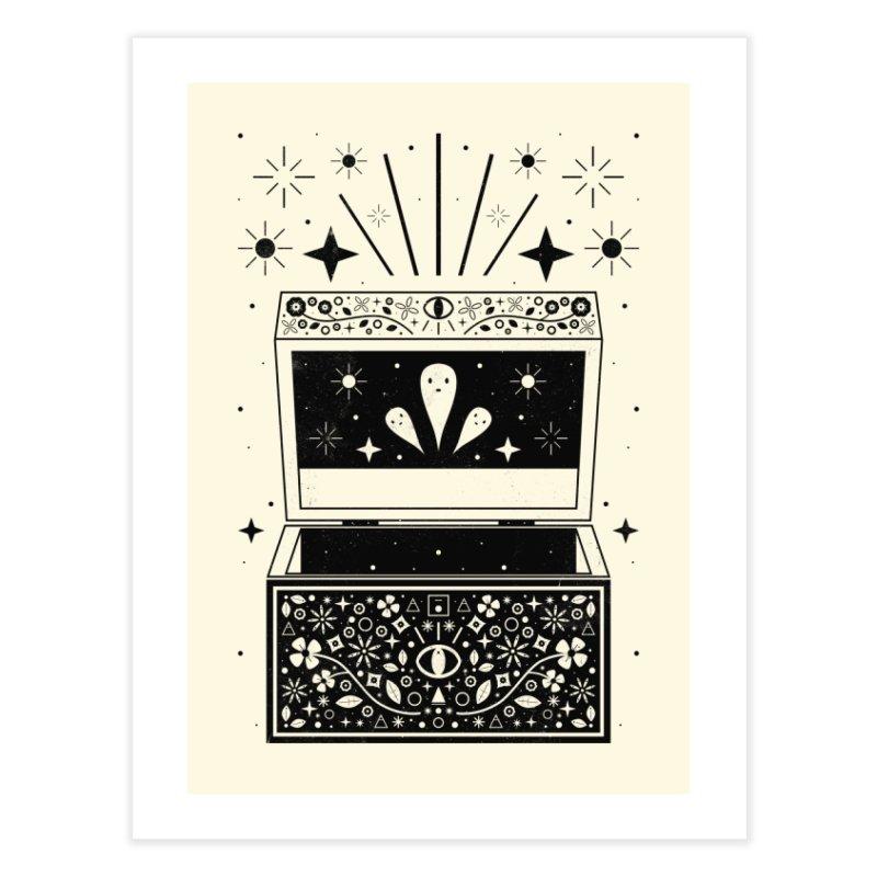 Pandora's Box  Home Fine Art Print by carlywatts's Shop