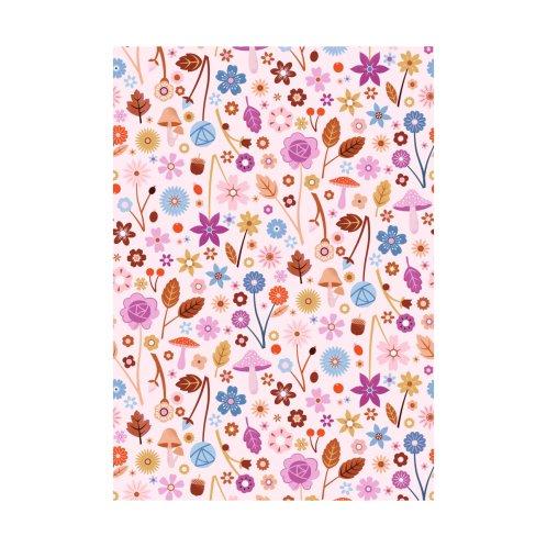 Design for Autumn Flowers