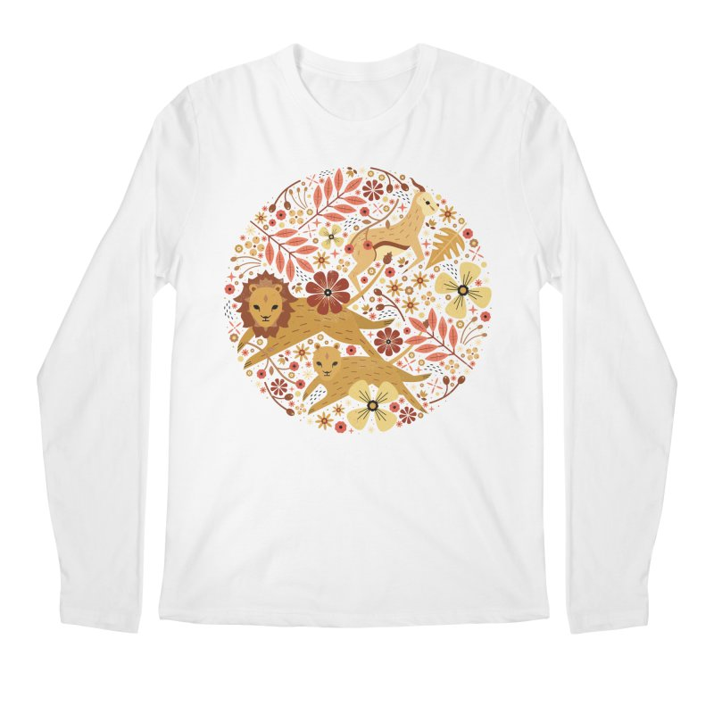 Leeu and Bokkie  Men's Longsleeve T-Shirt by carlywatts's Shop