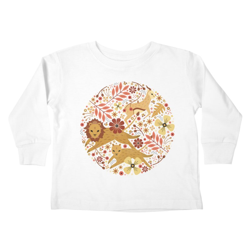 Leeu and Bokkie  Kids Toddler Longsleeve T-Shirt by carlywatts's Shop