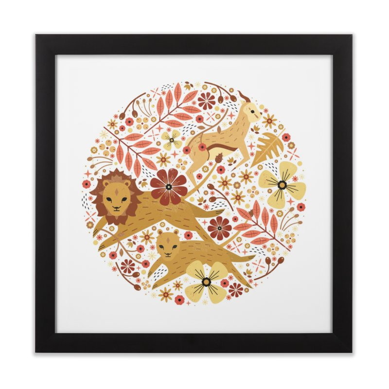 Leeu and Bokkie  Home Framed Fine Art Print by carlywatts's Shop