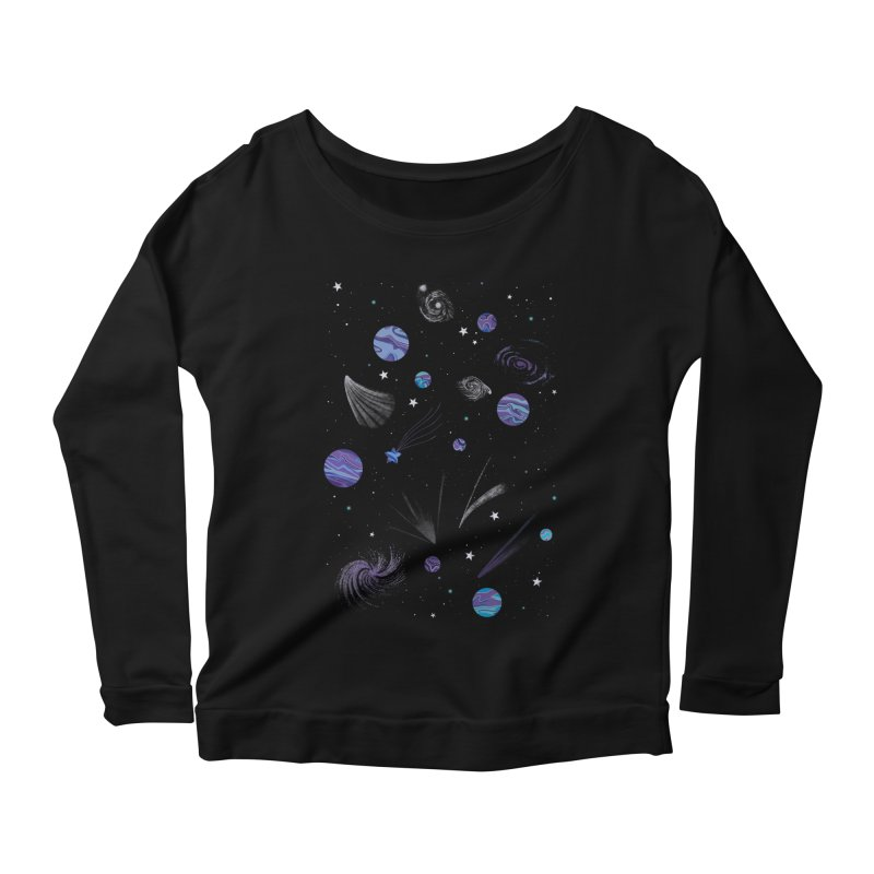 Continuum Women's Longsleeve Scoopneck  by carlywatts's Shop