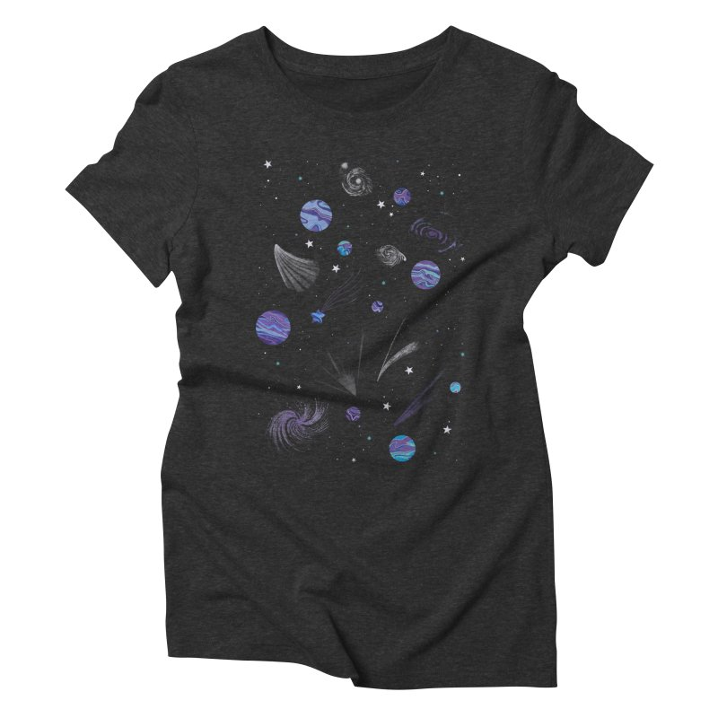 Continuum Women's Triblend T-Shirt by carlywatts's Shop