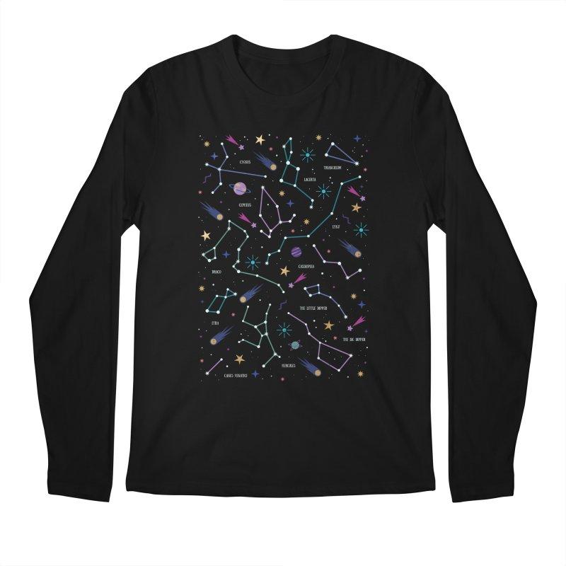 The Stars Men's Regular Longsleeve T-Shirt by carlywatts's Shop