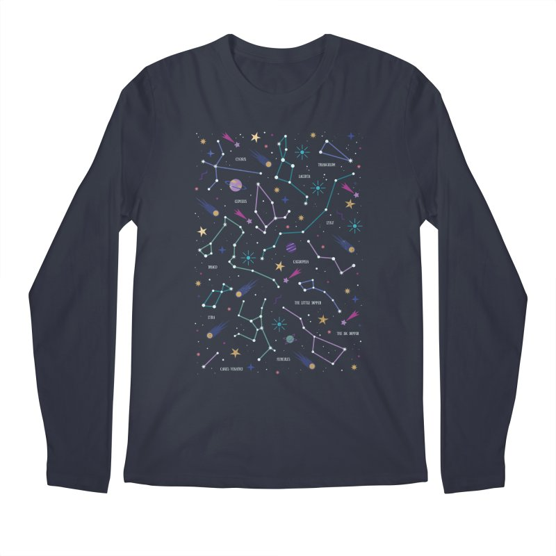 The Stars Men's Regular Longsleeve T-Shirt by carlywatts's Shop