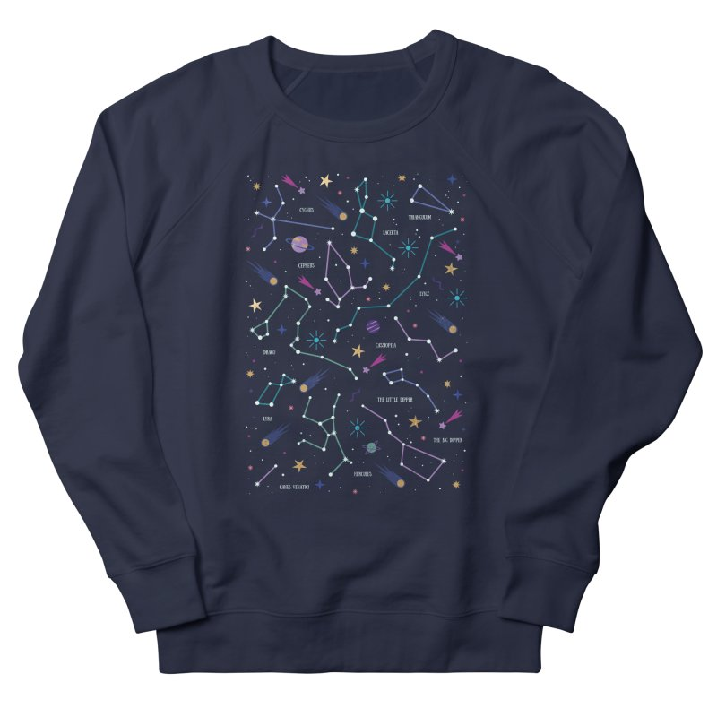 The Stars Men's French Terry Sweatshirt by carlywatts's Shop