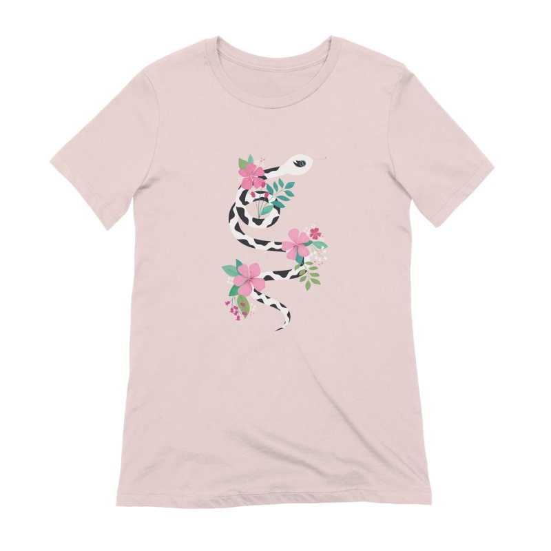 Dalmatian Snake Women's Extra Soft T-Shirt by carlywatts's Shop