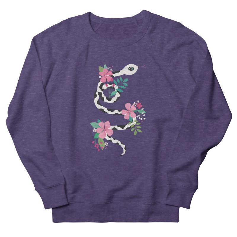 Dalmatian Snake Women's French Terry Sweatshirt by carlywatts's Shop