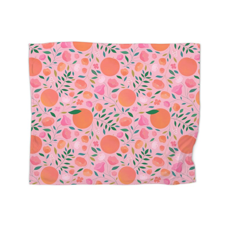 Apricots Home Fleece Blanket Blanket by carlywatts's Shop