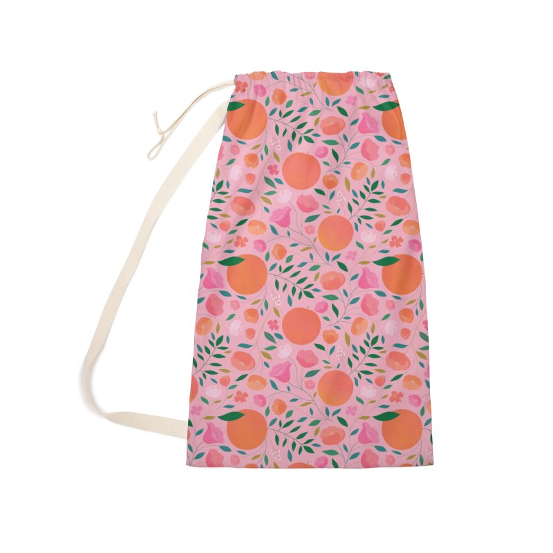 Apricots Accessories Laundry Bag Bag by carlywatts's Shop