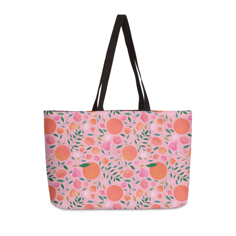 Apricots Accessories Weekender Bag Bag by carlywatts's Shop