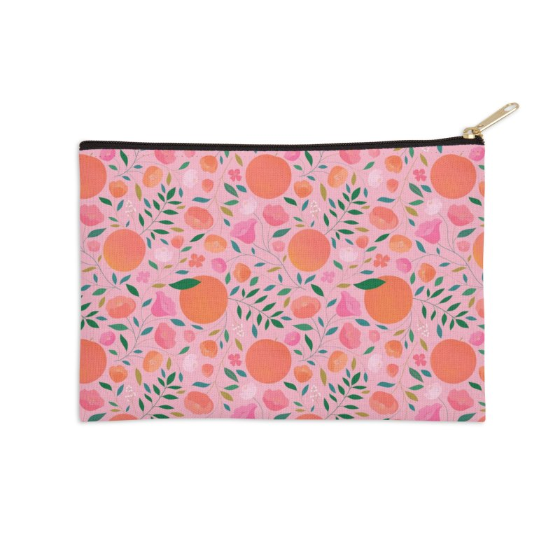 Apricots Accessories Zip Pouch by carlywatts's Shop