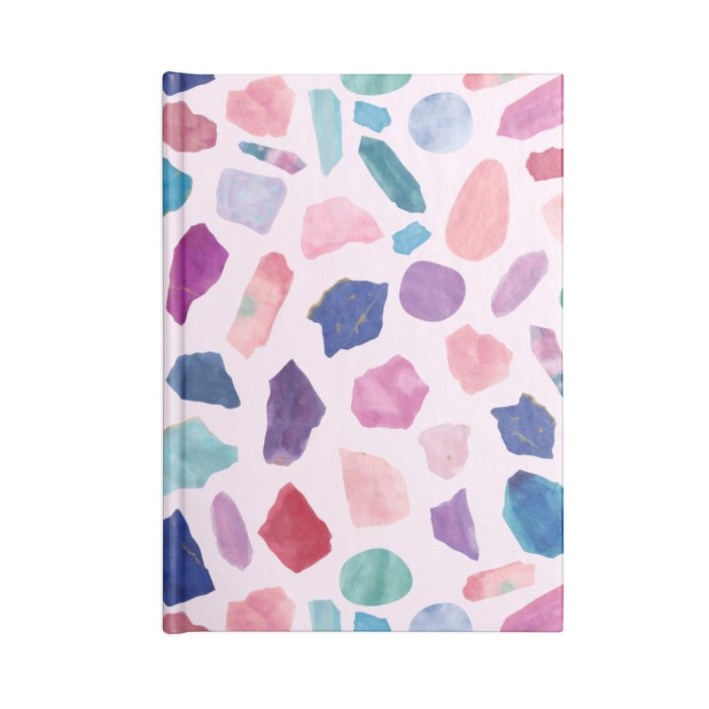 Crystalarium Accessories Blank Journal Notebook by carlywatts's Shop