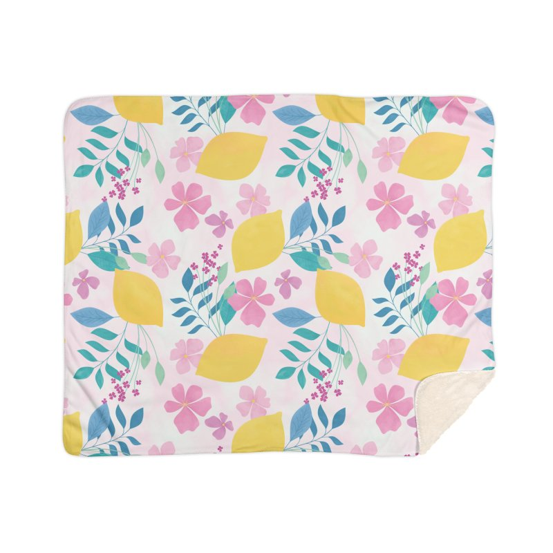 Limoncello Home Sherpa Blanket Blanket by carlywatts's Shop