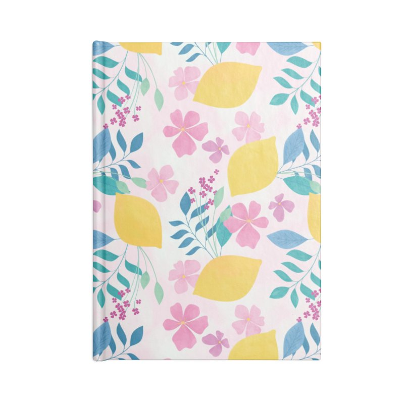 Limoncello Accessories Lined Journal Notebook by carlywatts's Shop