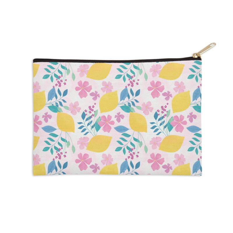 Limoncello Accessories Zip Pouch by carlywatts's Shop