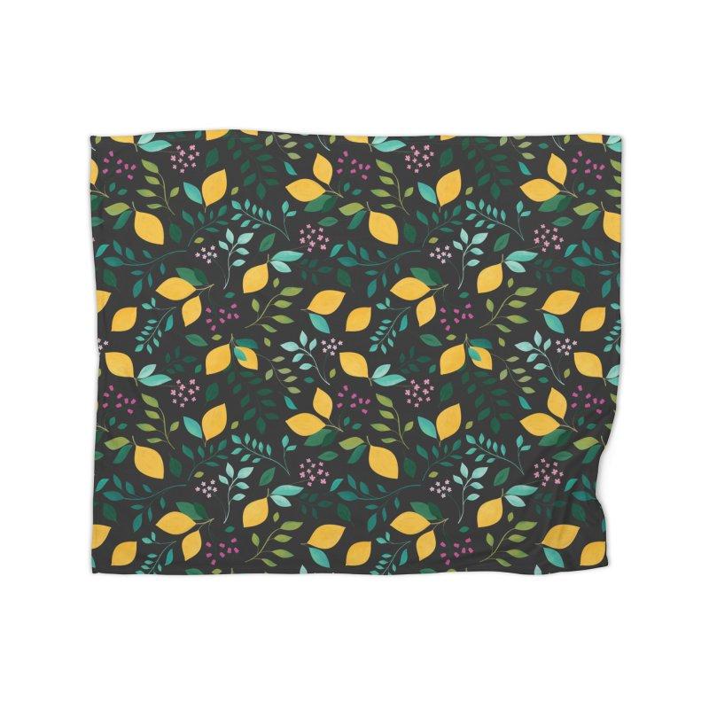 Lemon Grove Home Fleece Blanket Blanket by carlywatts's Shop
