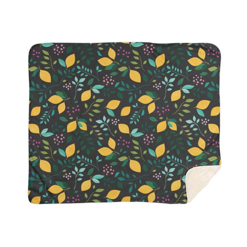 Lemon Grove Home Sherpa Blanket Blanket by carlywatts's Shop