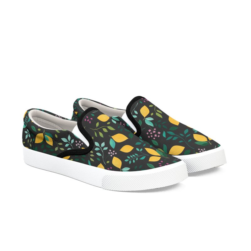 Lemon Grove Women's Slip-On Shoes by carlywatts's Shop