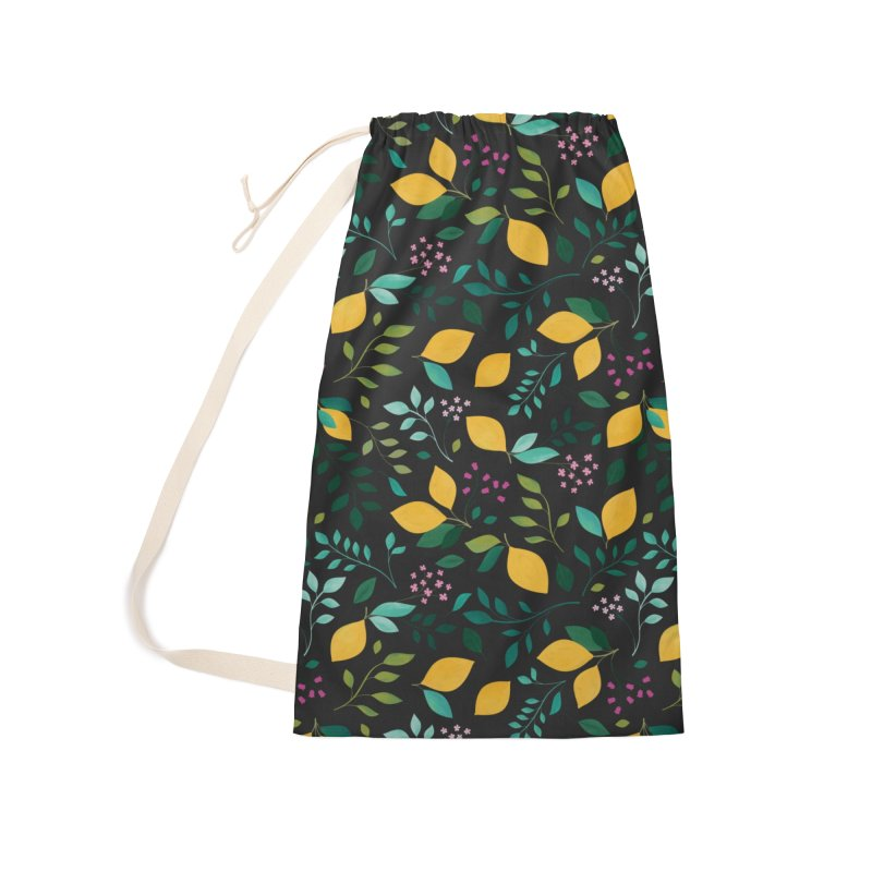 Lemon Grove Accessories Laundry Bag Bag by carlywatts's Shop