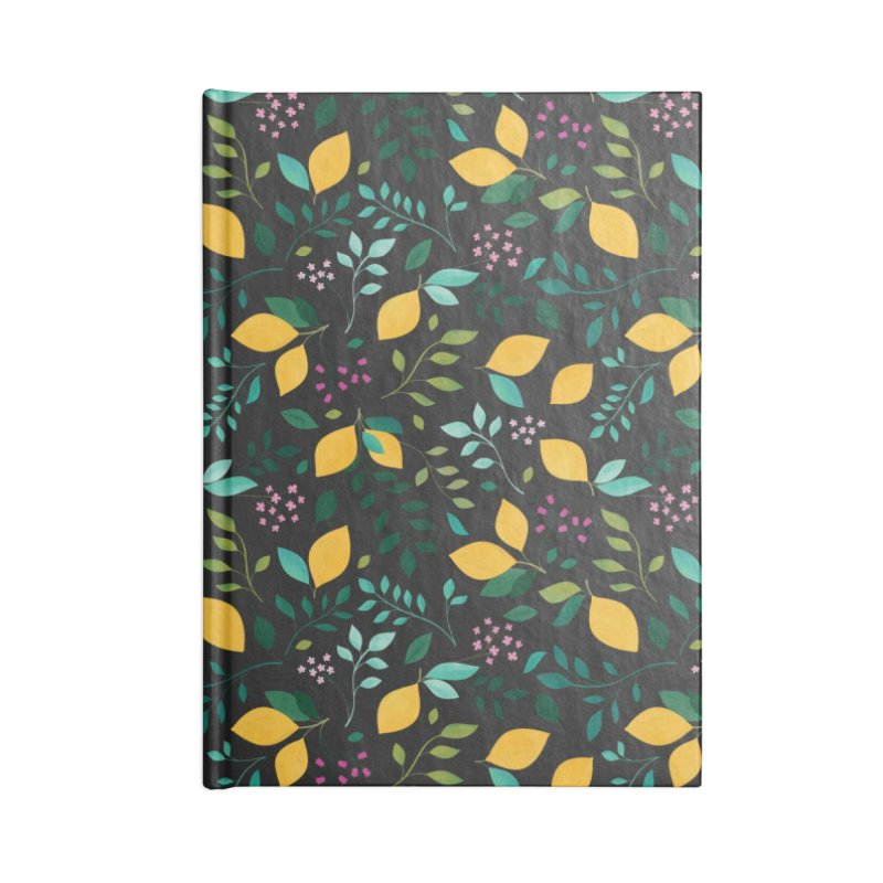 Lemon Grove Accessories Blank Journal Notebook by carlywatts's Shop