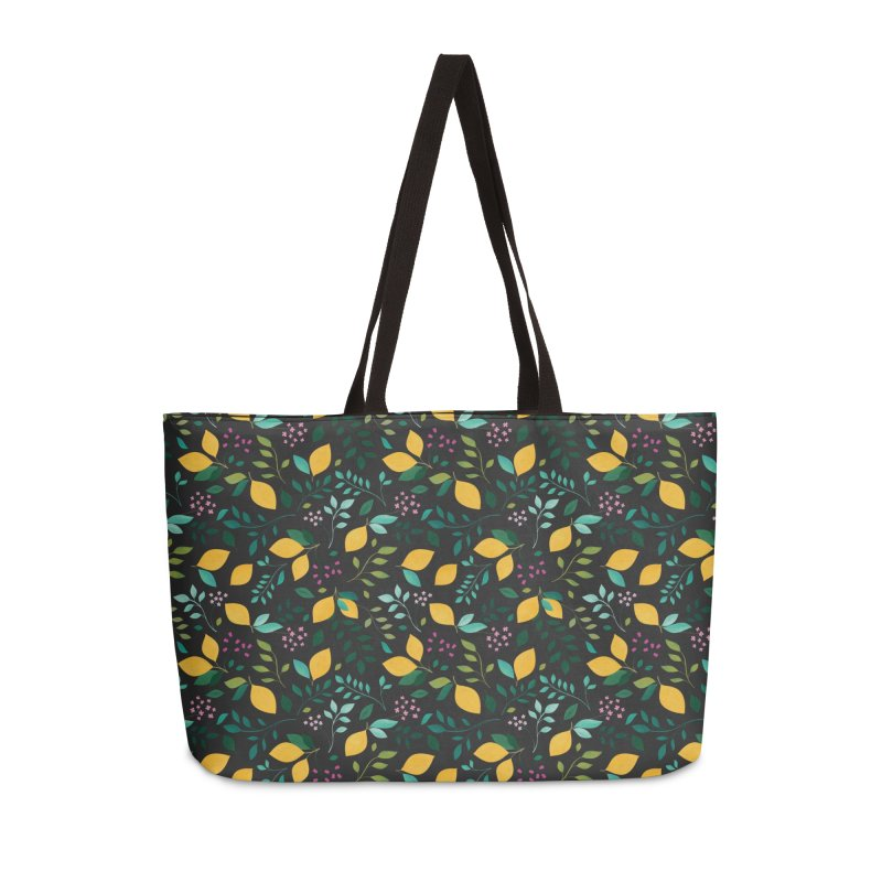 Lemon Grove Accessories Weekender Bag Bag by carlywatts's Shop