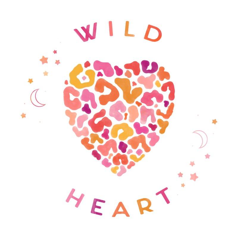 Wild Heart Women's Scoop Neck by carlywatts's Shop