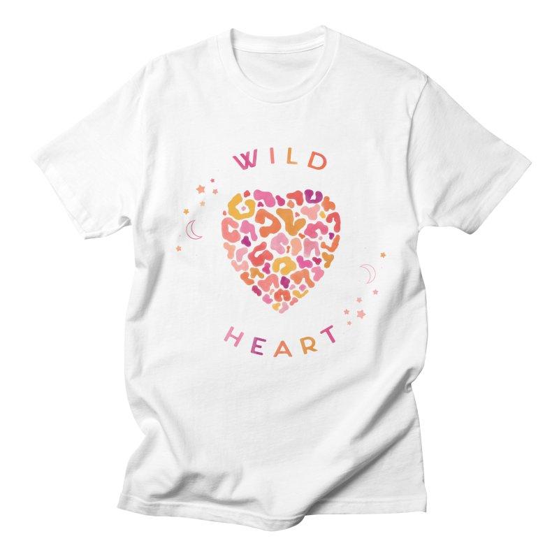 Wild Heart Women's Regular Unisex T-Shirt by carlywatts's Shop