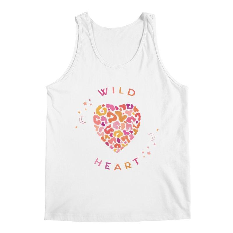 Wild Heart Men's Regular Tank by carlywatts's Shop
