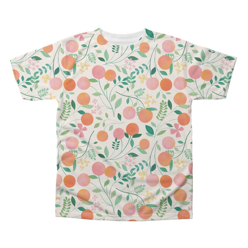 Vanilla Peaches Men's Regular All Over Print by carlywatts's Shop