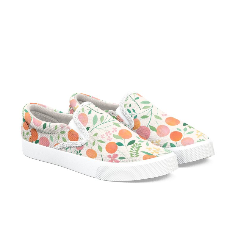 Vanilla Peaches Women's Slip-On Shoes by carlywatts's Shop