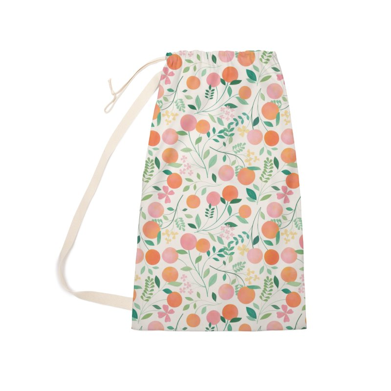 Vanilla Peaches Accessories Laundry Bag Bag by carlywatts's Shop